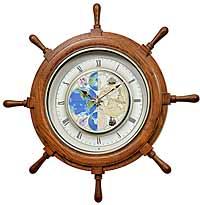 Rhythm 4MH405WU06 Time Trip Musical Clock