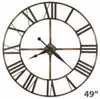 Howard Miller Wingate 625-566 Large Wall Clock