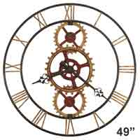 Howard Miller Hannes 625-645 Large 49 inch Wall Clock