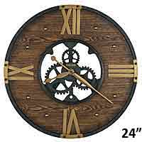Howard Miller Murano 625-650 Large Wall Clock