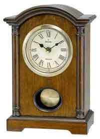 Bulova B7466 Dalton Table Clock
