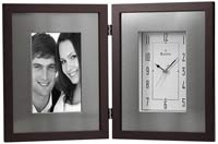 Bulova B1234 Winfield Photo Frame Clock