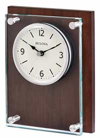 Bulova B1712 Award Desk or Wall Clock