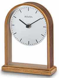 Bulova B1713 Enfield Table Clock