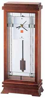 Bulova B1839 Frank Lloyd Wright Willits Mantel Clock