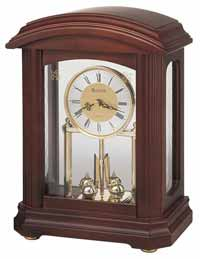 Bulova B1848 Nordale Mantel Clock