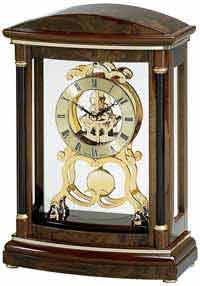 Bulova B2026 Valeria Skeleton Clock