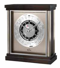 Bulova B2258 Wyndmere World Time Desk Clock