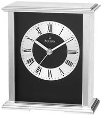 Bulova B2266 Baron Desk Clock