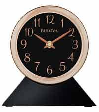Bulova B5404 Port Jeff Wall Clock / Table Clock