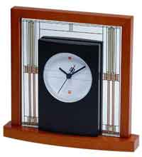 The Bulova B7756 Willits Table Clock