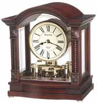 Bulova B1987 Bardwell Mantle Clock