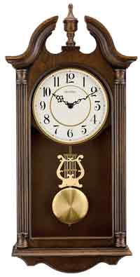 Bulova C1517 Saybrook Quartz Chiming Wall Clock