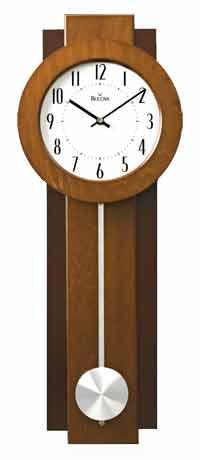 Bulova C3383 Avent Contemporary Wall Clock