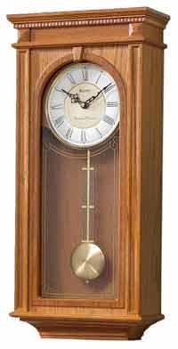 Bulova C4419 Manorcourt II Chiming Wall Clock