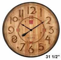 Bulova C4803  Frank Lloyd Wright Taliesin Large Wall Clock