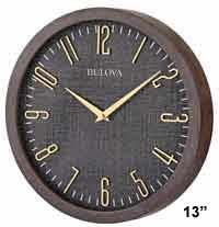 Bulova C4805 Lowell Wall Clock