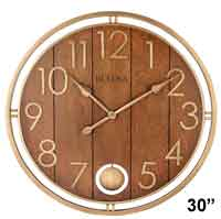 Bulova C4806 Panel Time Large Wall Clock