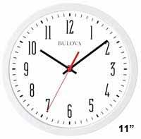 Bulova C4831 Cubicle Auto-Set Wall Clock