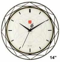 Bulova C4834 Luxfer Prism Wall Clock