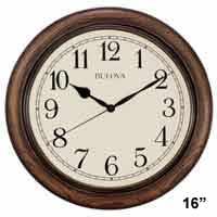 Bulova C4845 Oakbrook Wall Clock