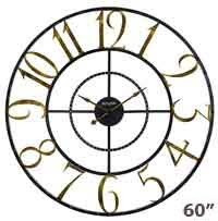 Bulova C4857 Colossus Wall Clock