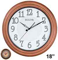 Bulova C4866 Providence Illuminated Wall Clock