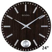Bulova C4867 Manhattan Wall Clock