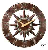 Bulova C4873 Nor'Easter Large Wall Clock