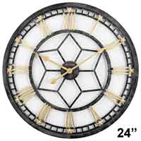 Bulova C4875 Starlight LED Illuminated Wall Clock