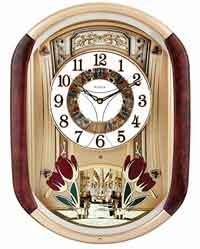 Bulova C4902 Music in Motion Clock