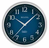 Bulova Precise C5001 CONNECT WIFI Wall Clock