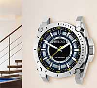 Bulova C9888 Precisionist Watch Dial Wall Clock