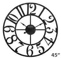 Bulova C4821 Gabriel Large Wall Clock