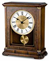 Bulova B1860 Vanderbilt Musical Chiming Mantel Clock