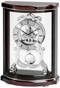 Bulova B2025 Wentworth Skeleton Mantel Clock