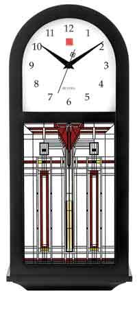 Bulova C4836 B. Harley Bradley Chiming Wall Clock