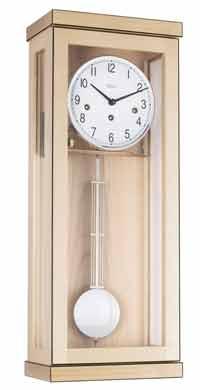 Hermle Carrington 70989-090341 Maple Keywound Wall Clock