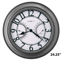 Howard Miller Tawney 625-668 Outdoor Wall Clock