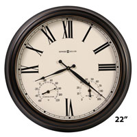 Howard Miller Aspen 625-677 Outdoor Wall Clock