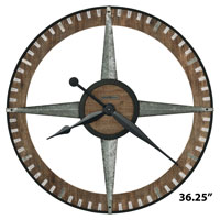 Howard Miller Buster 625-709 Large Wall Clock