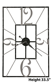 Howard Miller Antoine 625-712 Gallery Wall Clock