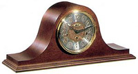Hermle 21134-N90340 Laurel Cherry Keywound Chiming Mantel Clock