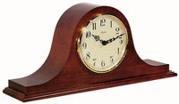 Hermle 21135-N92114 Cherry Chiming Mantel Clock