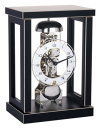 Hermle Brayden 23056-740791 Black Mantle Clock