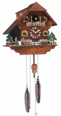 Hermle Heidelberg Black Forest Quartz Cuckoo Clock