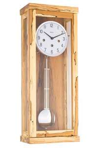Hermle 70989-T30141 Wanduhr Chiming Wall Clock