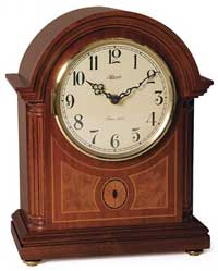Hermle Barrister II 22877-07Q Chiming Mantel Clock