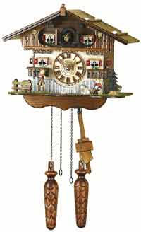 Hermle Frieburg 41000 Quartz Cuckoo Clock