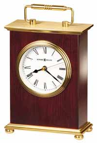 Howard Miller Rosewood Bracket 613-528 Desk Clock